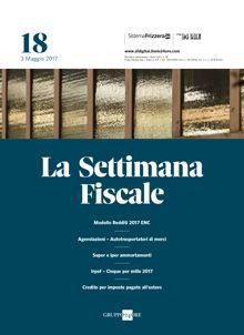 Settimana fiscale il sole 24 ore for Scadenzario fiscale 2017